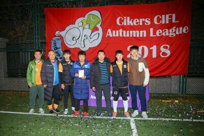 Autumn 2018 Division's 3 Cup 77